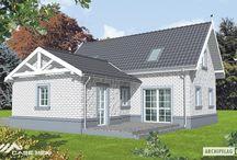 Casa cu mansarda pe structura metalica - Flora