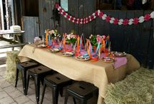 pony party / Pony party, horse party, 5th birthday, pony, rustic, country party