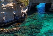 In love with the Sea / Italian coast can offer you from Caribbean sea to unique Grottos... have a taste here!