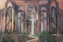 Visual response, Child of Light & Art Nouveau