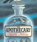 DENbrarian June 2013 : The Apothecary / The Apothecary: It's 1952 and the Scott family has just moved from Los Angeles to London.  There, fourteen-year-old Janie meets a mysterious apothecary and becomes fascinated by his son, Benjamin Burrows—a boy who isn't afraid to stand up to authority and who dreams of becoming a spy.  / by Discovery Education