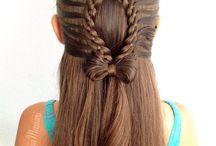 Słodkie fryzury