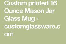Cheap Engraved Mason Jars