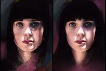 Gesichter malen