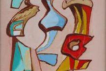 """Mi trabajo con Eugenio Granell / Con motivo del centenario del nacimiento de Eugenio Granell,  realicé el comisariado de la exposición """"El espejo del pintor"""" para la fundación NovacaixaGalicia en sus sedes de Santiago de Compostela y A Coruña. Este trabajo me permitió adentrarme en el fascinante mundo del Surrealismo ... / by Támmara Bescansa"""