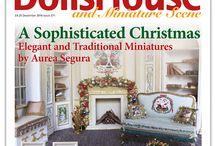 Dolls House and Miniature Scene December 2016