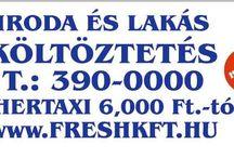 Fuvarozás / Költöztetés, fuvarozás, fuvarszervezés, szállító cég, furgon, gyorsan és megbízhatóan. Fuvar rendelés, kisteherautó, furgon. http://www.freshkft.hu