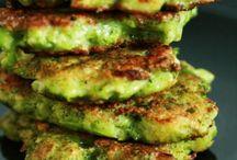 galette de brocoli