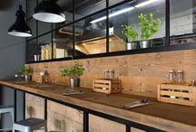Restaurant interiør design