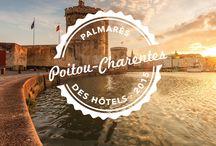 Poitou-Charentes : Le Palmarès 2015 des meilleurs hôtels / by Jardins Aliénor
