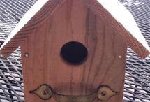 bird houses / by Monica Houlihan