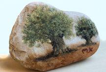 stone painging