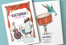 Illustrated repertoire for cultural organization KULTURKA