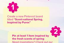 Scent-sational Spring,  inspired by Purex