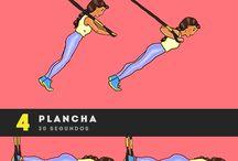 ejercicio con banda
