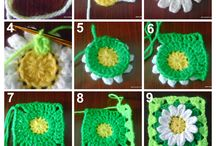 decoraciónen  crochet