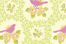 Spring Inspiration / Spring is in the air! Let us inspire you with our beautiful spring fabric!