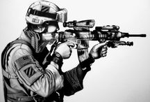 Military Art / by Terry Markle