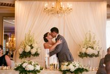 Head Table / Wedding Flowers, Weddings Niagara on the Lake, Cathy Martin Flowers, Head Table Ideas