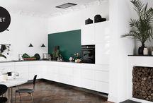 Hjemme kjøkken