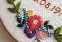 꽃자수 2