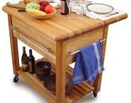 Dining In Style / http://www.bonanza.com/listings/Kitchen-Cart-Kitchen-Cart-foldable-Kitchen-Island-Cart-Kitchen-Cart-Island/131172569