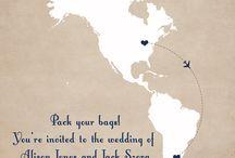 Destination Weddings: Save the Date