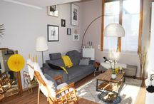 En visite chez... Lune & Sardine / Nouvelle visite privée réalisée par le blog Hemoon.Fr :) Découvrez l'univers vivant, coloré et lumineux de Sandrine, entre vintage, récup brocante et touches de couleurs :) Bienvenue chez Hemoon