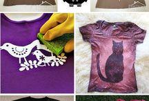 Decoración camisetas