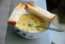 soup and breads