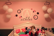 """A's """"Big Girl"""" Room / by Tyler & Ashlee's Mommy"""