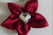 Fabric Handmade Flowers / Satin Flower | Fabric Flower