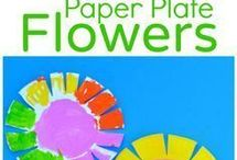 Paper plate activities