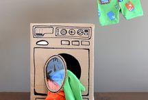Cardboard crazy! / by Debi Brockman