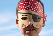 Paper masks inspired