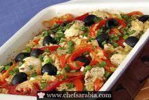 Middle Eastern yummy Food