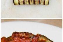 involtini melanzane carne macinata (o takino) mozzarella
