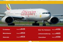 Fly #Africa in 2016 with Ethiopian Airline.