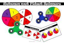 Spinner rekenles