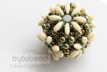 beadwork - beaded beads