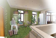 Fröbel / Für einen Notar haben wir Wartebereich und Flur einer Villa aufgewertet