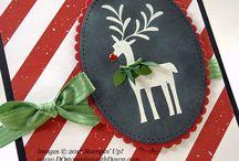 Stampin Up Merry Mistletoe