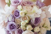 Lila wedding flowers