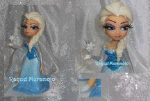 Disney...porcelana fria / Esculturas Disney feitas com porcelana fria