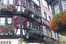 maisons dans Colmar Alsace