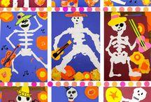 Skelet Kunst / deepsparkle skelet