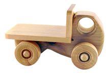 Slöjd bilar / Enkla träbilar