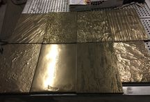 Metallic Wall Panels and finishes