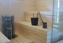 sauna + bath