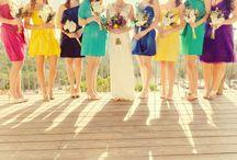 Weddings {Bridesmaids} / Bridesmaids fashion - Bridesmaids dresses  / by Alexa Webb